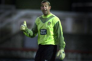 Leeds United goalkeeper Nigel Martyn.