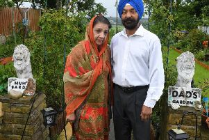 Mr and Mrs Singh, from Fishwick View, Preston, have been repeatedly targeted by thieves who have stolen hundreds of pounds in plants and garden ornaments