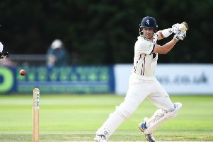 Joe Denly batted Kent into a strong position.