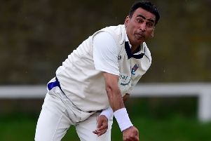 Mohammad Shahnawaz claimed 4-27 in Batley's win over Gomersal.