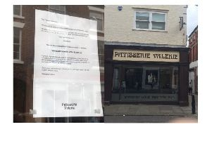 Chesterfield's Patisserie Valerie is no more.