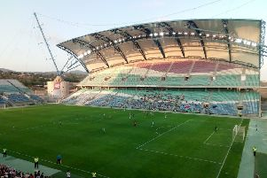 The stadium in the Algarve where Sheffield United played Real Betis on Friday night.