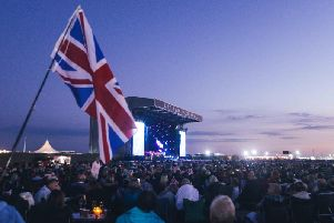 A sea of chairs and picnics for Hollywood Proms at Lytham Festival