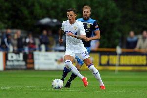 Leeds United loanee Ben White featured in the 5-1 victory over Tadcaster Albion.