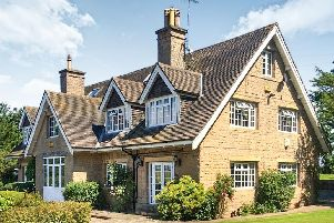 The property is on Oxton Hill in Southwell.
