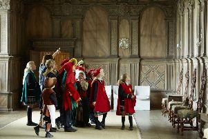 Haddon Hall offers tours for children in summer 2019. Photo by Ian Daisley.
