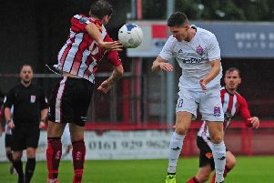 The Coasters go into tomorrow's season opener after losing at Altrincham'in their final pre-season friendly       Picture: Steve McLellan