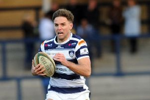 Joe Ford is back at Yorkshire Carnegie for 2019-20.