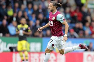 Burnley's Jay Rodriguez
