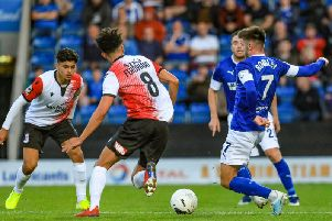 Woking ran out 2-1 winners against Chesterfield on Tuesday night.