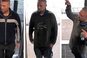 Call police on 101 if you recognise this man.