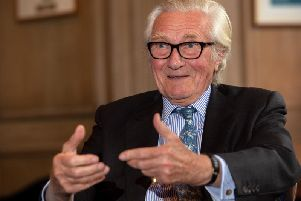 Michael Heseltine will be appearing in Leeds next month