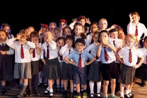 Little Voices performers in action.