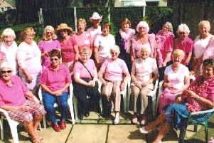 Soroptimists hold a Pink Party.