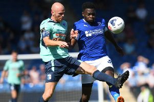 Chesterfield are back in action at the Proact.