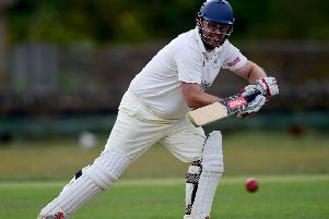Tim Orrell struck a magnificent 126 as Mirfield Parish Cavaliers earned an emphatic 255-run victory over Denby to move second in the Huddersfield League Championship.