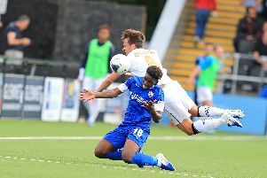 Chesterfield are bottom of National League after yesterday's defeat.