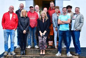 Staff and customers of Hope Valley pubs the Moon Inn, the Miners Arms and the Eyre Arms are teaming up for a skydive this month to raise funds for Cancer Research UK.