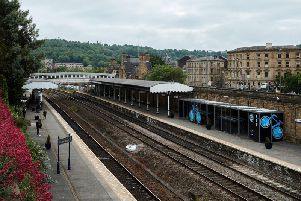 Dewsbury train station