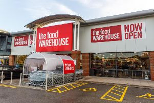 The Food Warehouse is based at Heanor Retail Park,