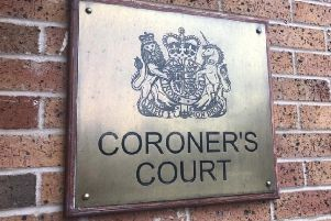 The inquest opened at Chesterfield Coroner's Court today.