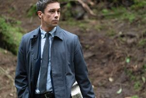 Killian Scott played Detective Rob Reilly in Dublin Murders, the new cop show for the autumn on BBC1. Picture courtesy BBC/Euston Films/Starz/Bernard Walsh