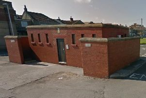 The public toilets at Church Point in Newbiggin. Picture from Google