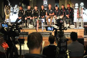 Wigan Warriors and Sydney Roosters held their media launch event tonight at Revolution in Wigan