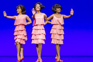 Set Up photographs from Motown The Musical by Berry Gordy @ Shaftesbury Theatre. Directed by Charles Randolph-Wright.'(Taken 15-03-17)'�Tristram Kenton 03-17'(3 Raveley Street, LONDON NW5 2HX TEL 0207 267 5550  Mob 07973 617 355)email: tristram@tristramkenton.com