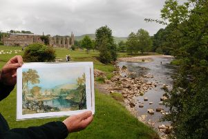 Bolton Abbey, on the Turner trail. PIC: Bruce Rollinson