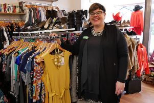 Donate to a hospice shop