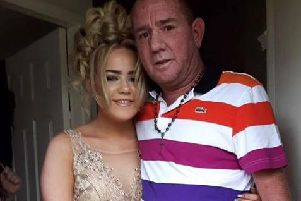 Lee Christy with his daughter Leah