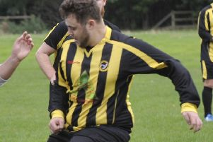 Matty Reid netted for Norristhorpe Reserves but later missed a penalty as his side slipped to a 4-2 defeat against Dewsbury Rangers Reserves in Yorkshire Amateur League Division Four.