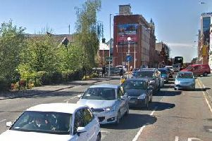 Corporation Street, at the junction with Heatley Street, is partially blocked and temporary diversions are in place along Friargate.