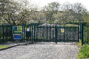 The site where 19 homes have been approved off Doddington Drive in Cramlington. Picture by Jane Coltman