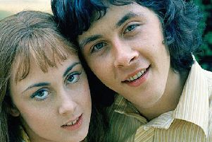 The Lovers was a British television sitcom by the alte Jack Rosenthal.''It stared Richard Beckinsale and Paula Wilcox as a courting couple, Geoffrey and Beryl. It was made between 1970 and 1971