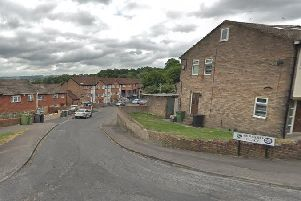 Police were called to Howard Place in Batley Carr shortly before 4am.