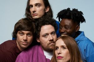 Metronomy, gig at the O2 Arena Leeds.