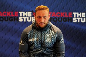 Hull FC's Josh Griffin. Picture by Simon Hulme