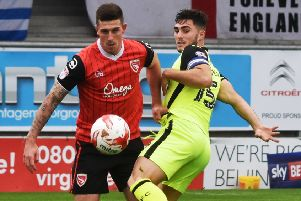 Cole Stockton is back with Morecambe
