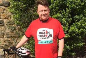 Mammoth ride: Alistair Hartley will be taking part in the Tour de Mon cycle sportive on the beautiful island of Anglesey.