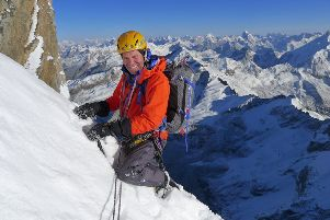Matlock mountaineer Mick Fowler and his climbing partner Vic Saunders are flying out to the Himalaya this month to attempt an unclimbed 6,000 metre peak.