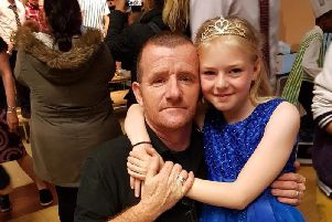 James Anderson, 52, and daughter Annalise