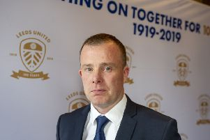 Leeds United CEO Angus Kinnear at a civic reception at Leeds Civic Hall for Leeds United celebrating the 100 anniversary of the club. (Picture: Tony Johnson)