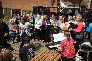 A choir performing at last year's Epworth Music Day
