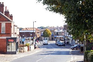 Conisbrough is having issues with large congregations of youths, up to 30 or 40 people gathering. Where Old Road meets Church Street, pictured. Picture: Marie Caley NDFP-29-09-18-Conisbrough-2