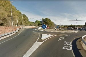 The accident happened on the main road between Ibiza town and Portinatx