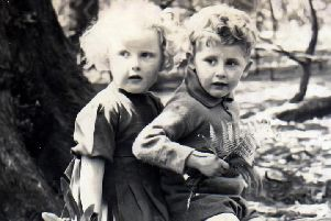 Anne and twin brother Andrew