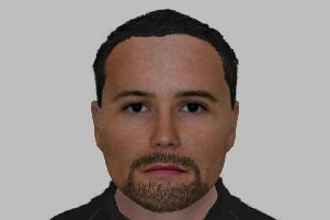 Detective have now released this e-fit image of a man they would like to speak to.