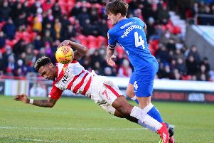 Mallik Wilks during the win over Peterborough United
